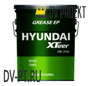 Смазка Hyundai XTeer GREASE EP 00 15кг